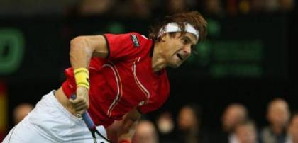 David Ferrer progressed quickly through to the semi-finals