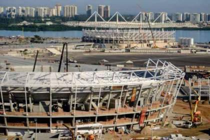 The tennis centre in Rio