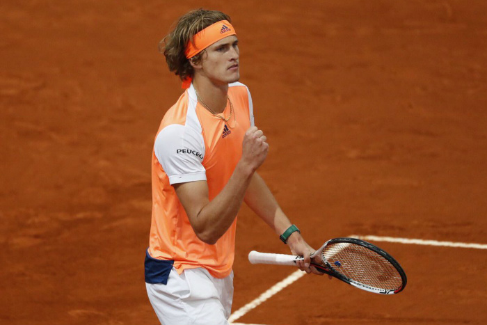 Alexander Zverev reaches his first Masters 1000 semifinal in Rome
