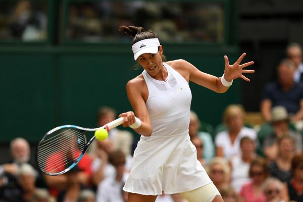 Garbiñe Muguruza thumps Magdalena Rybarikova to reach second Wimbledon final