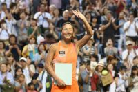 Kimiko Date ends her career at th the Japan Open in Tokyo