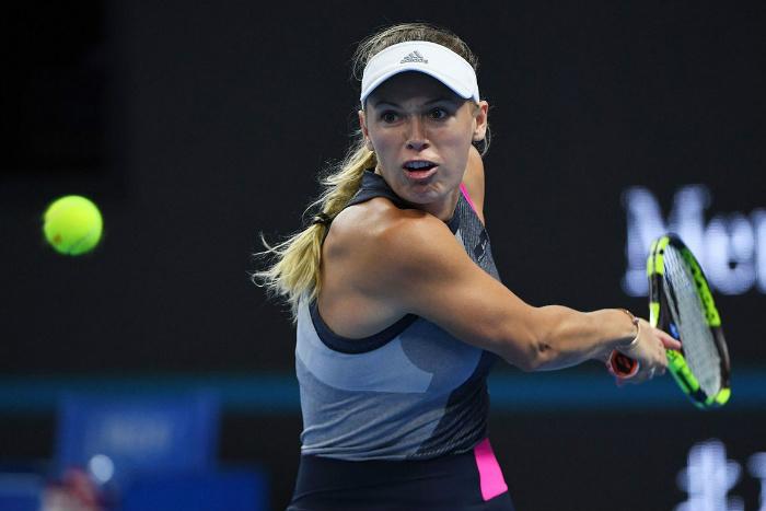 Jennifer Brady upsets Shuai Zhang, as Caroline Wozniacki and Elina Svitolina withdraw from Hong Kong