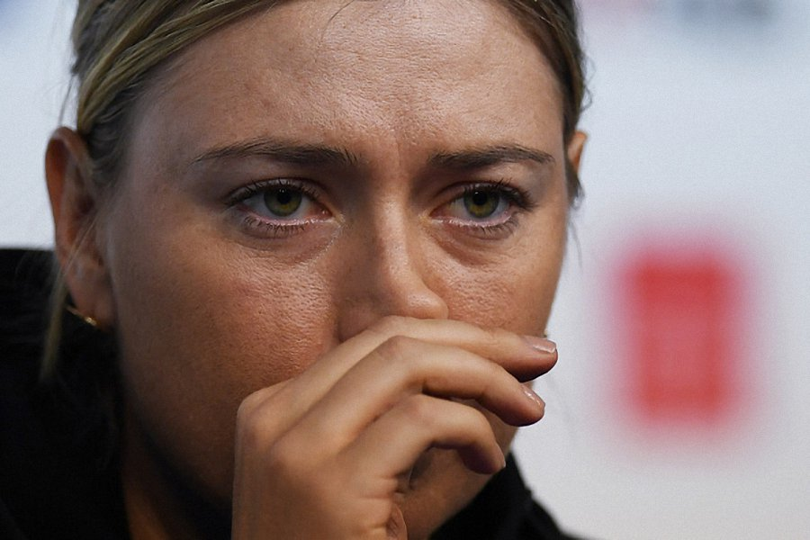 Maria Sharapova edges past Magda Linette to reach the quarter final in Tianjin