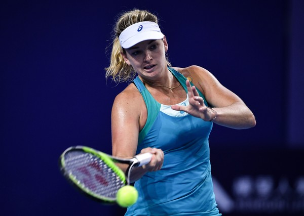 Coco Vandeweghe sets up final with Julia Goerges at the WTA Elite Trophy in Zhuhai