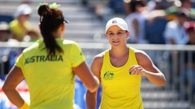 Australia, Slovakia, Romania and Italy move into the Fed Cup World Group Play-Offs