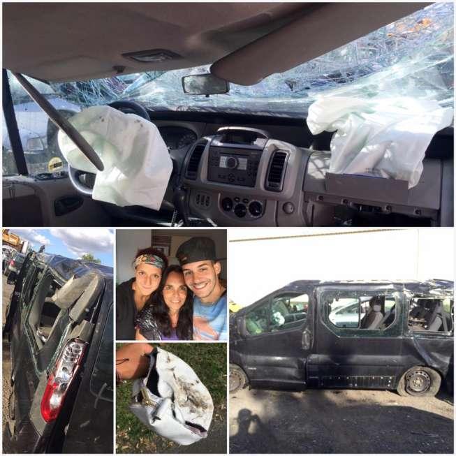 Swiss Rising Star Rebeka Masarova Survives Horrific Car