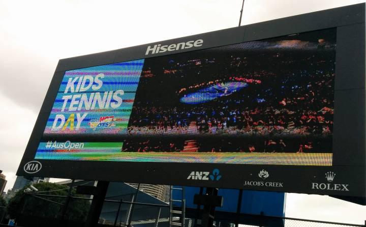 Kids Day at the Australian Open