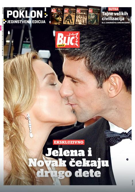 The front page of Blic on Sunday (via blis.rs)
