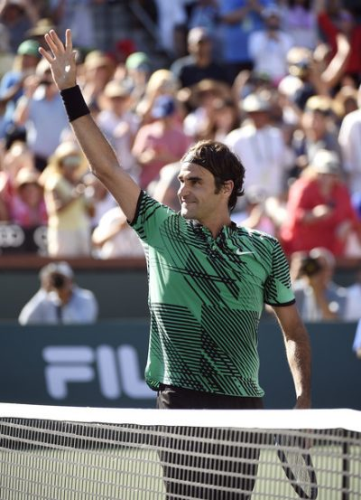 The sky is the limit for Roger Federer (Zimbio)