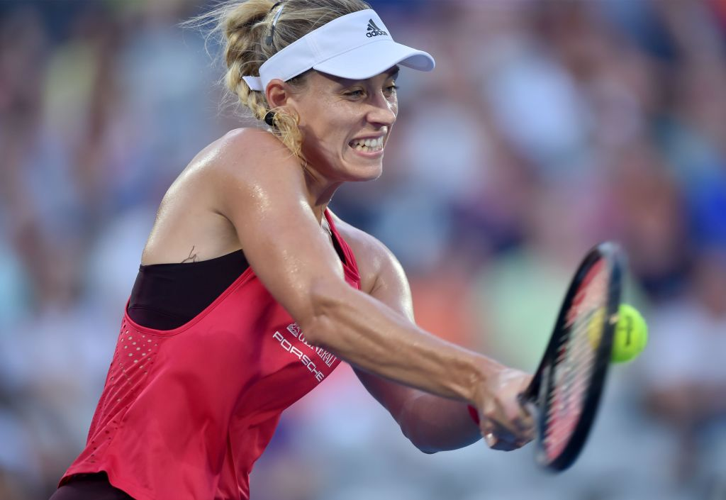 Angelique Kerber beats Camila Giorgi to set up Sydney final against Ashleigh Barty
