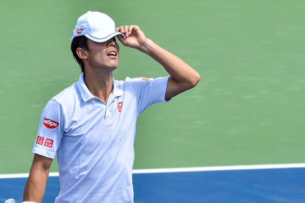 Kei Nishikori Crashes Out To Qualifier Dennis Novikov In Newport Beach