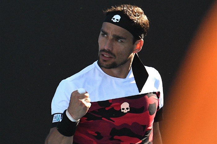 write a song fabio fognini