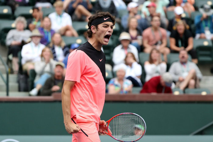 Taylor Fritz beats Fernando Verdasco to reach the fourth round at Indian Wells