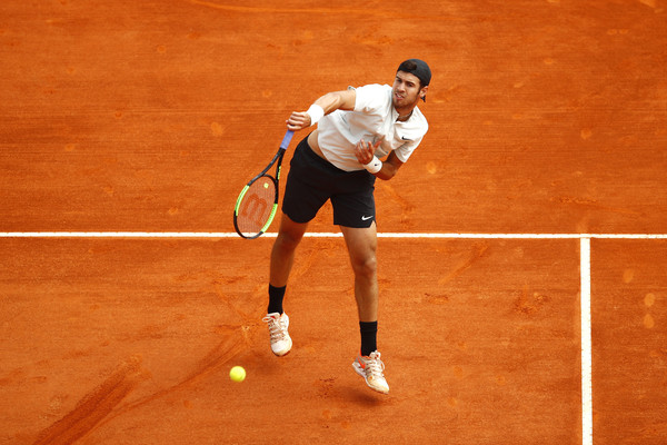 Karen Khachanov reaches the second round in Monte-Carlo for the second year in a row
