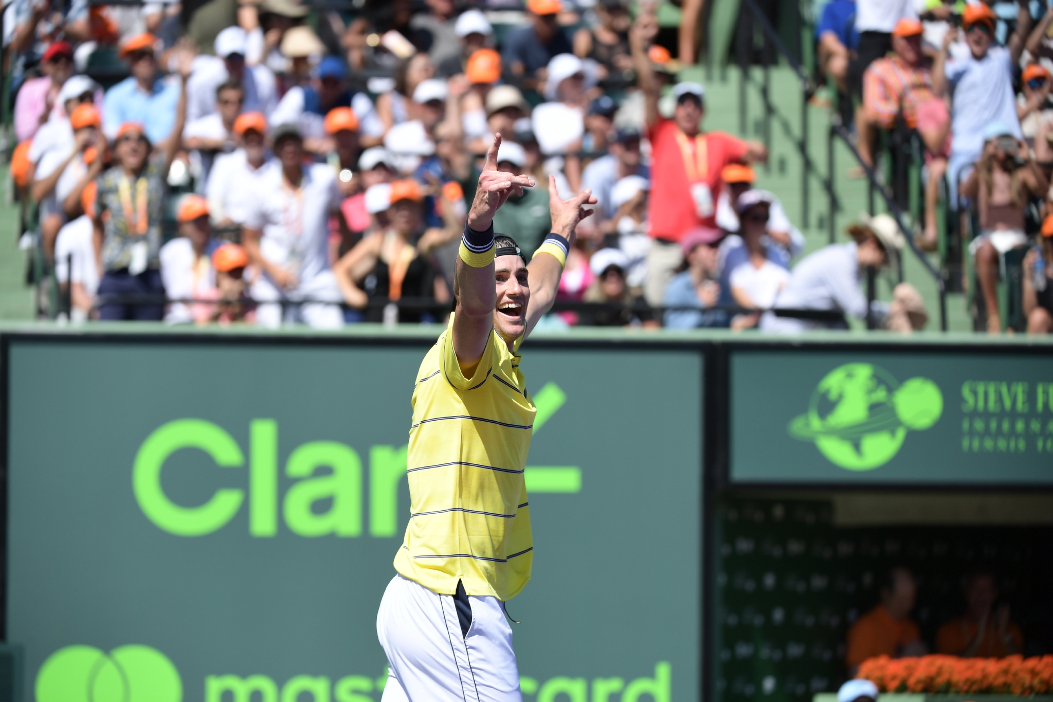 Exclusive Podcast With Steve Flink: Americans Shine At The Miami Open As Agassi Departs