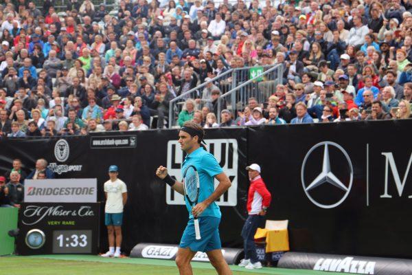 Roger Federer Starts With Win In Stuttgart