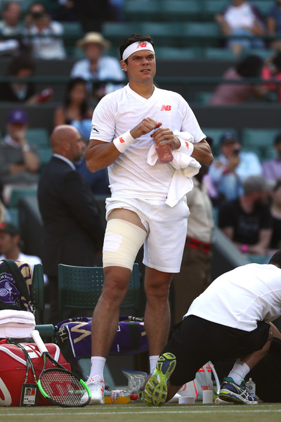 Milos Raonic: Injury Suffered Wednesday Feels Like 'Tear' In Thigh