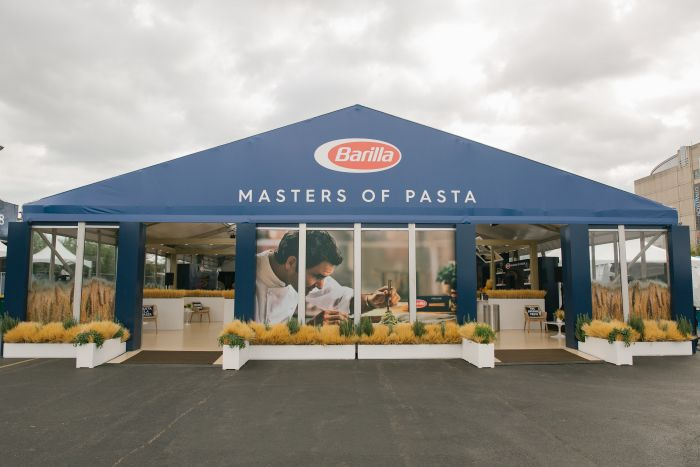 Federer introduces Barilla to tennis in the USA - UBITENNIS