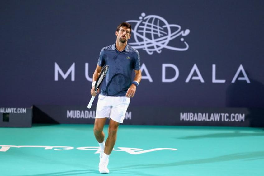 d5392d241 Novak Djokovic clinches his fourth Mubadala World Tennis ...