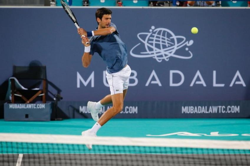 59a6671b2 Novak Djokovic sets up Mubadala final against Kevin Anderson in Abu ...