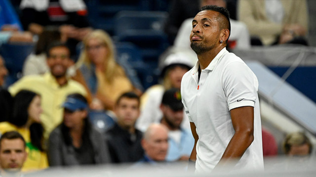 Nick Kyrgios, Steve Johnson, 2019 US Open