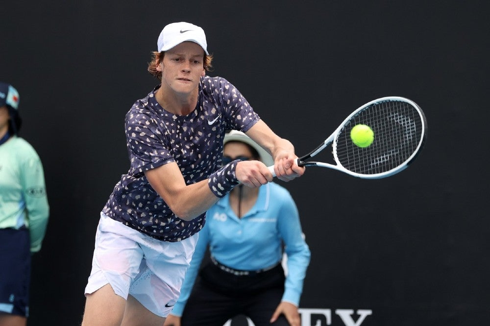 Endorsed By Federer And Nadal Teenage Star Jannik Sinner