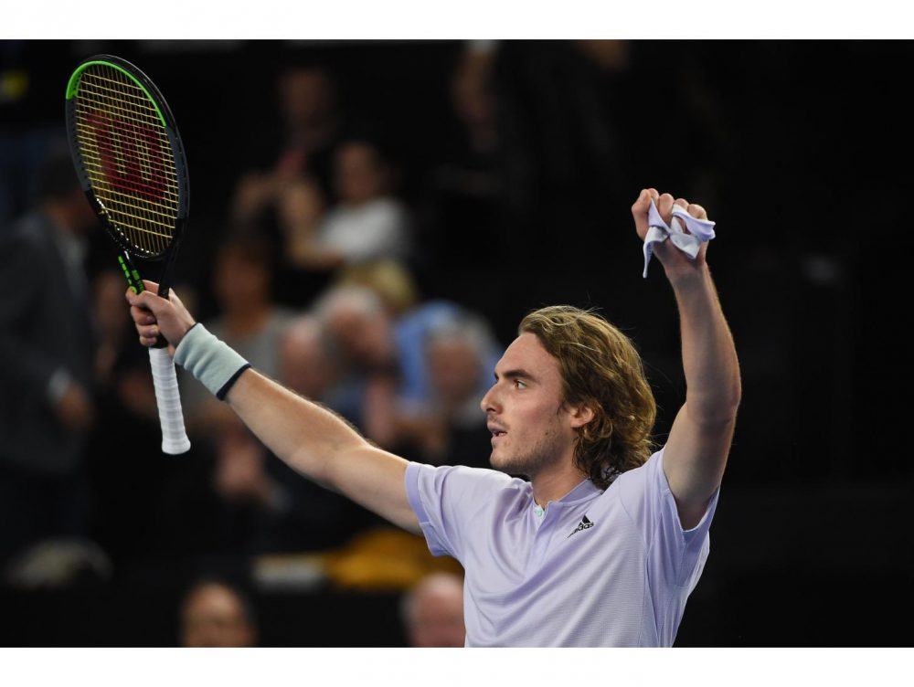 Stefanos Tsitsipas Launches Player Covid 19 Fundraiser With Coach Of Serena Williams Ubitennis