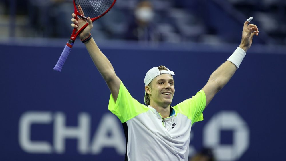 Denis Shapovalov (image via US Open Twitter)